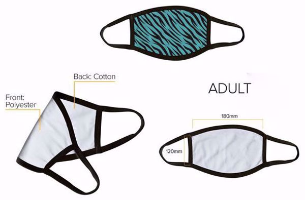 Picture of Sublimation Face Masks for Adults