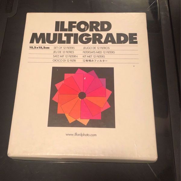 """Picture of Ilford Filter Set - 6"""" x 6"""""""
